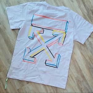 OFF-WHITE 3D Marker Tee In White